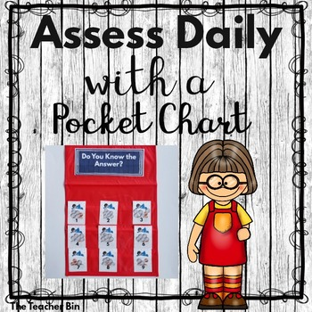 Kindergarten - 1st- 2nd - Special  Ed. -Assessing Daily-Po
