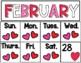 Year Round Pocket Chart Calendar Cards