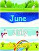 Pocket Chart Calendar for Southern Hemisphere
