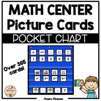 Pocket Chart Math Center Cards