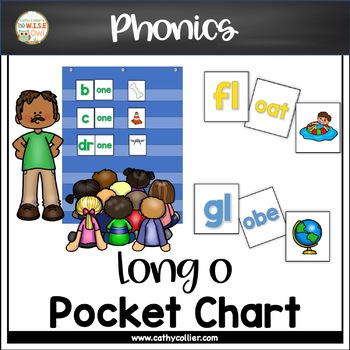 Pocket Chart Word Builders Set:  Long o