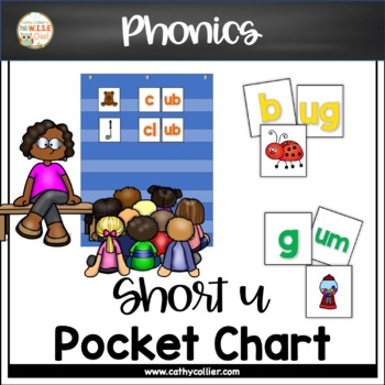 Pocket Chart Word Builders Set:  Short U