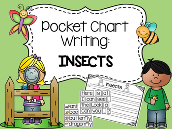 Pocket Chart Writing: Insects