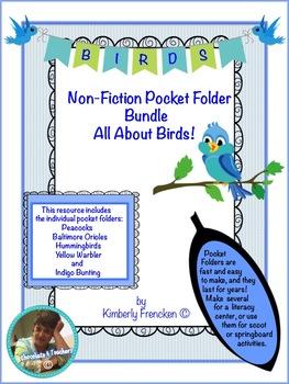 Pocket Folder Bundle: Non-Fiction Literacy Center, Scoot o