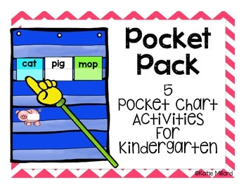 Pocket Pack - 5 Pocket Chart Word Activities