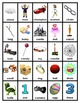 Pocket Picture Vocabulary Flash Cards 1-100