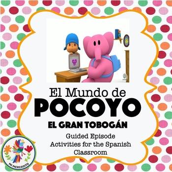 Pocoyo El Gran Tobogán - Spanish Video Activities