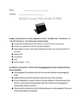 Poe Movie Poster Assignment