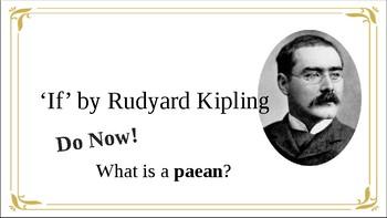 Poem Analysis 'If' by Rudyard Kipling