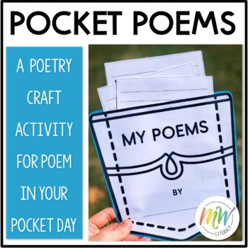 Poem In Your Pocket Craftivity