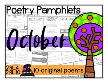 Poem Pamphlets {October}