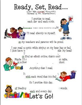 Poem: Ready, Set, Read...