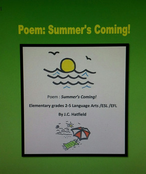Poem  SUMMER'S COMING