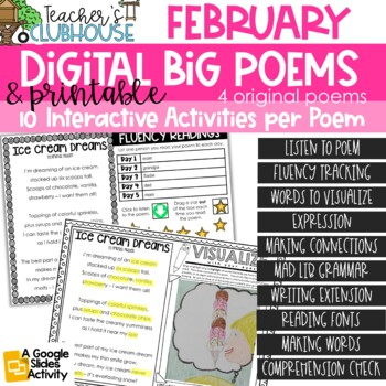 Poem of the Week {Weekly Poem Work} - February Edition