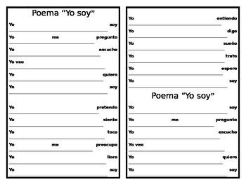 """Poema """"Yo soy"""""""