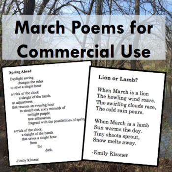 March Poems for Commercial Use