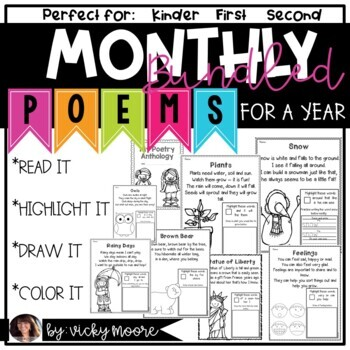 Poems for a year { BUNDLED }