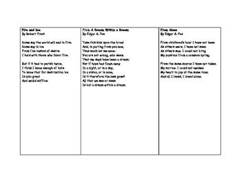 Poems to Memorize