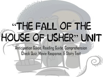"""Poe's """"The Fall of the House of Usher"""" Unit Bundle"""