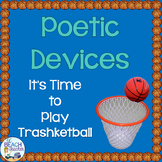 Poetry Terms Trashketball Review Game