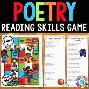 Poetry Activity: Poetry Comprehension Game