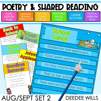 Poetry 2 August and September