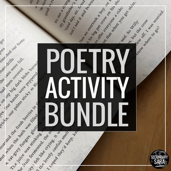Poetry Activity Bundle: Read, Write, and Enjoy Poems in Ol