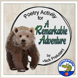 Back to School Poetry Activity for A Remarkable Adventure