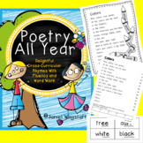 Poetry All Year: Cross-Curricular Rhymes w Fluency & Word