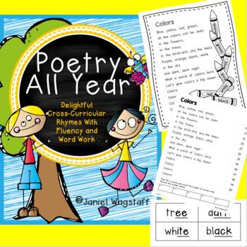 Poetry All Year: Cross-Curricular Rhymes w Fluency & Word