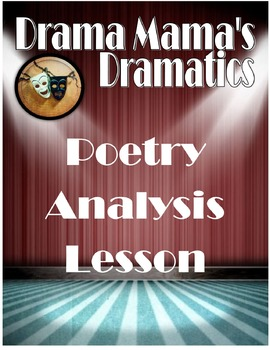 Poetry Analysis Lesson (Common Core aligned)