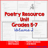 Poetry Analysis Resource