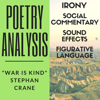 "Poetry Analysis: Stephen Crane's ""War is Kind"""