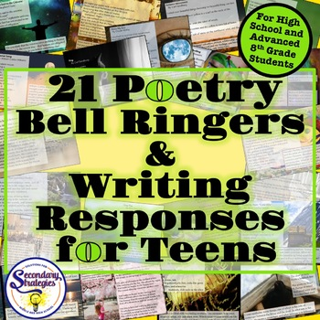 Bell Ringers - Poetry - With Writing Responses