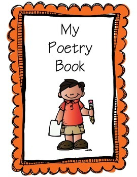 Poetry Book for Fountas and Pinnell LLI Orange Kit
