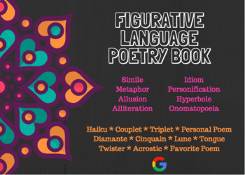 Poetry Book with Figurative Language
