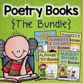Poetry Books Bundle, Phonics, Popcorn Words, Nursery Rhyme