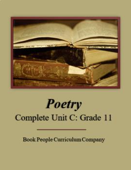 Poetry Complete Unit C (Grade 11)