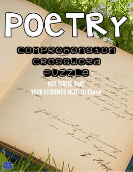 Poetry Crossword