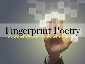 Poetry Fingerprints (Poems about yourself)