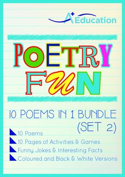 Poetry Fun - 10 Poems in 1 Bundle (Set 2)