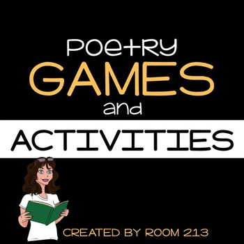 Poetry Games & Activities