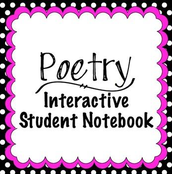 Poetry Interactive Student Notebook