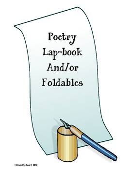 Poetry Interactive Notebook or Lapbook