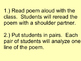 "Poetry Lesson- ""Autumn"""