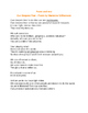 Poetry Lesson Plan