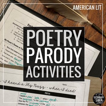 Poetry Mad Libs: Read & Imitate Classic Poems! (American L