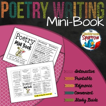 Poetry Mini-Book (A Perfect Addition to an ELA Interactive