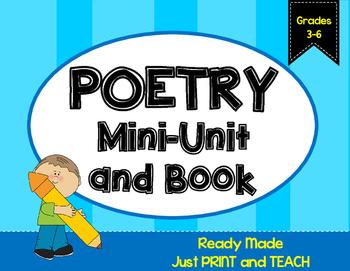 Poetry Mini-Unit {NO PREP}