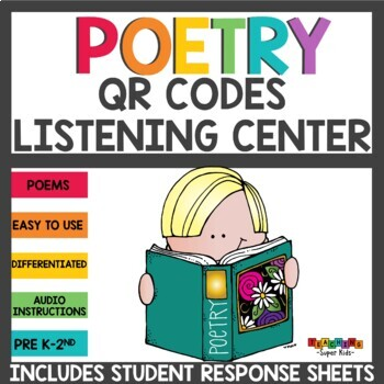 QR Codes Poems for your Listening Center